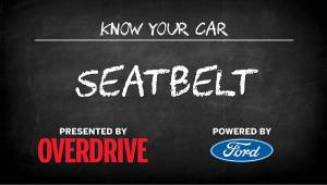 OD & Ford Presents: Know Your Car - Seat belt