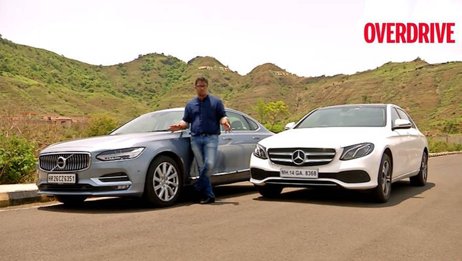 Mercedes-Benz E-Class E 220 d vs Volvo S90 D4 - Comparative Review