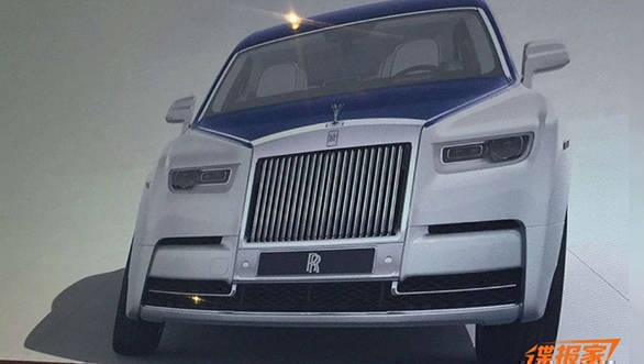 2018 Rolls-Royce Phantom images leaked
