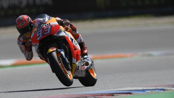 MotoGP 2017: Marc Marquez on pole at Brno