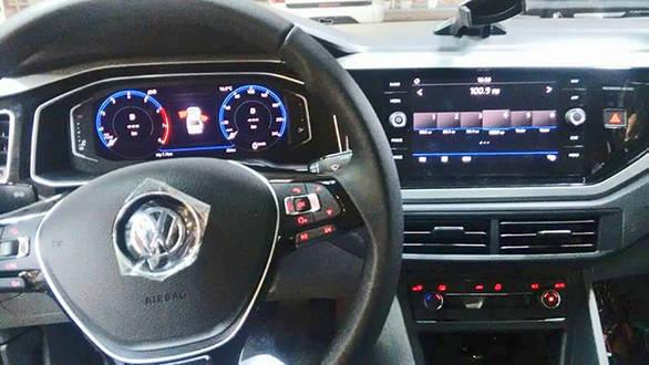 All New Volkswagen Polo Based Sedan Spied Overdrive