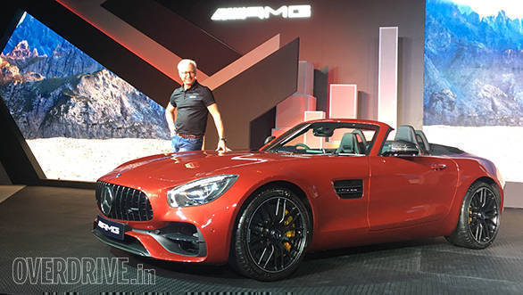 Mercedes launches GT R and GT Roadster sportscars