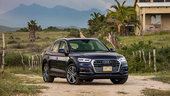 Exclusive 2018 Audi Q5 First Drive Review Overdrive
