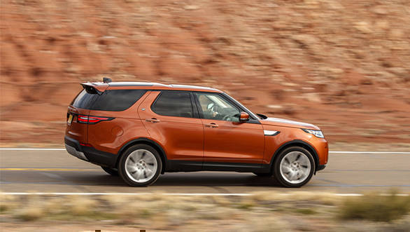 Image result for 2017 Land Rover Discovery unveiled in India at Rs 68.05 lakhs