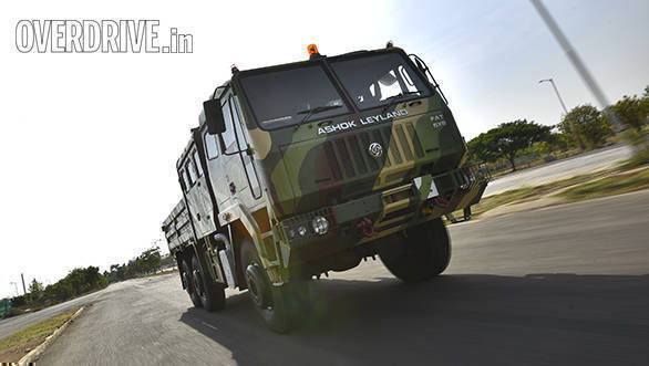 Ashok Leyland FAT 6x6 first drive review - Overdrive