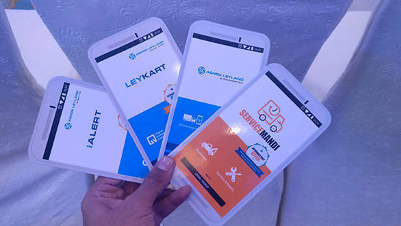 Ashok Leyland introduces four apps to tap Rs 1,000 cr digital marketplace revenue