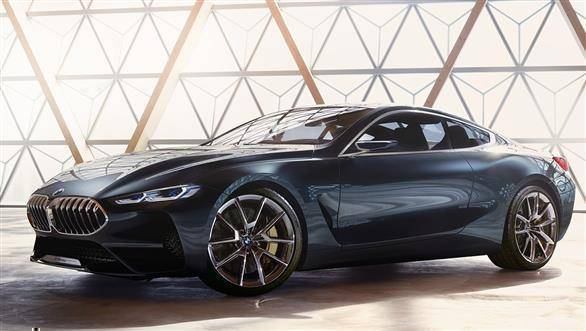 2018 BMW Concept 8 Series coupe showcased at Pebble Beach