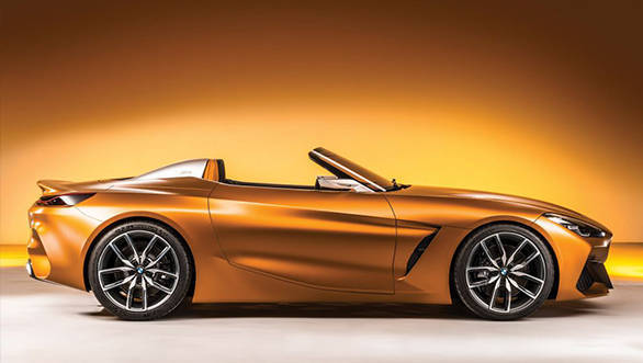BMW unveils the 4th-gen Z4 concept car at Pebble Beach Concours d'Elegance
