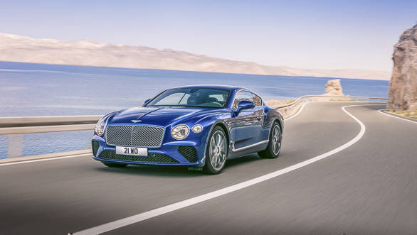 Bentley Continental GT 2017-12