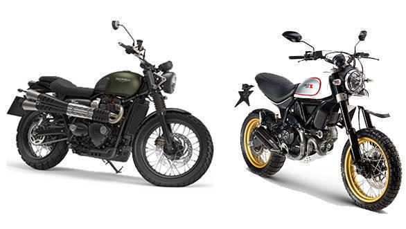 Spec comparison: Triumph Street Scrambler vs Ducati Scrambler Desert Sled