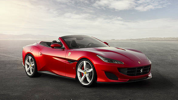 The 3.8 litre V8 unleashes a massive 600PS that sprints the Portofino from still to 100kmph in just 3.5 seconds