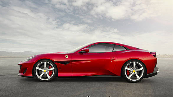 Named after one of Italy's most beautiful towns, the Portofino is Ferrari's take on a V8 GT