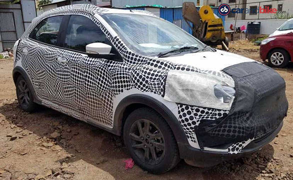 Ford Figo Cross Spy1