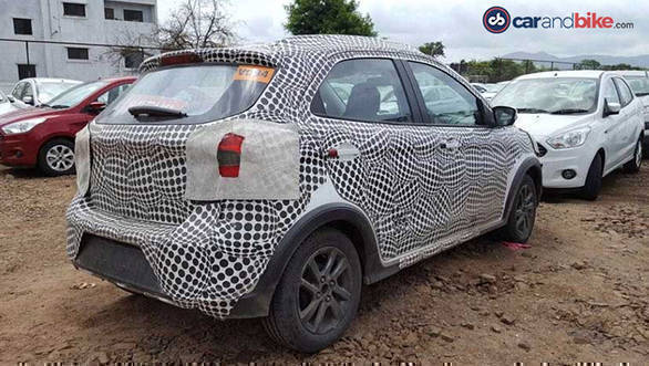 Ford Figo Cross Spy2