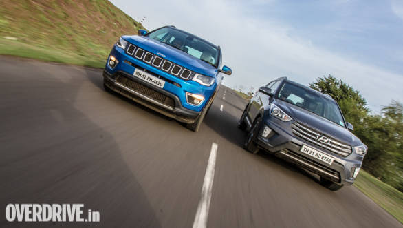 Comparison: Jeep Compass vs Hyundai Creta