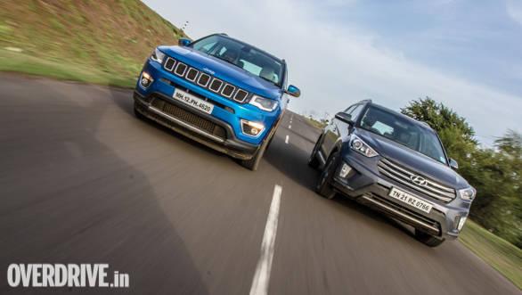 Comparison: Jeep Compass vs Hyundai Creta