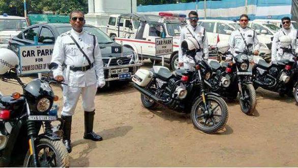 Kolkata police harley 3