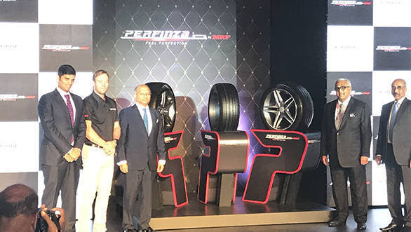 MRF Perfinza car tyres launched in India