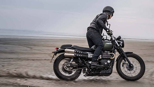 Confirmed: 2017 Triumph Street Scrambler India launch on Aug 24