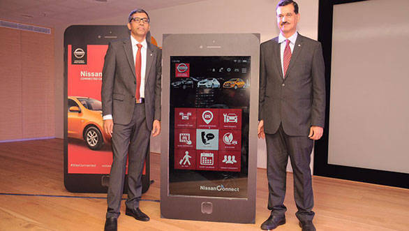 Nissan's connected auto technology launched in India