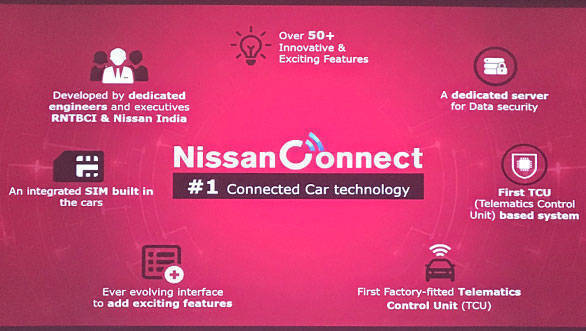 Want to connect your smartphone with auto? Nissan offers you the facility