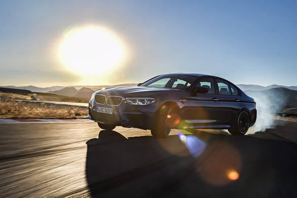 The 2018 BMW M5 made its debut in the virtual world in the EA racing game Need For Speed Payback