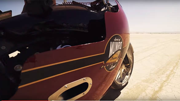 Video worth watching: Road to Bonneville Spirit of Munro