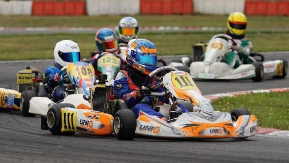Fourth place overall for Shahan Ali Mohsin at Rotax Grand Festival Austria