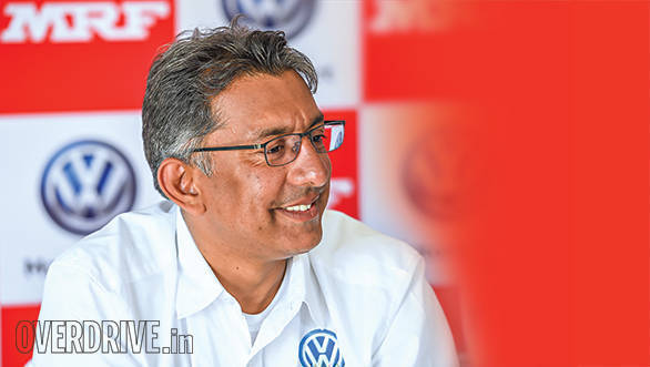 Interview: Sirish Vissa on Volkswagen's Polo R2 being piloted by Mike Young at the APRC India Rally of Chikmagalur