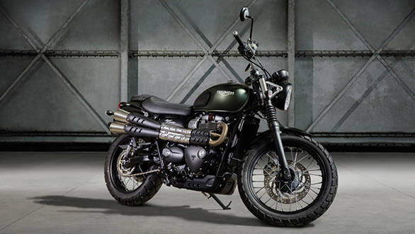 2017 Triumph Street Scrambler may launch in India on Aug 24