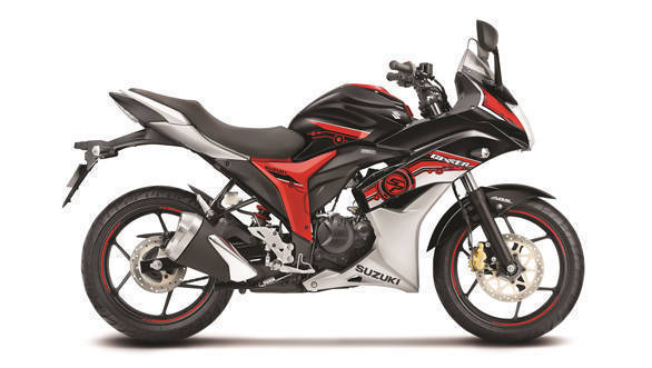 Suzuki Gixxer Tri-color SP edition launched in India at Rs 81,175