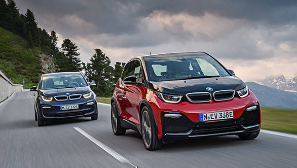 2017 Frankfurt Motor Show: Updated BMW i3 and i3S unveiled