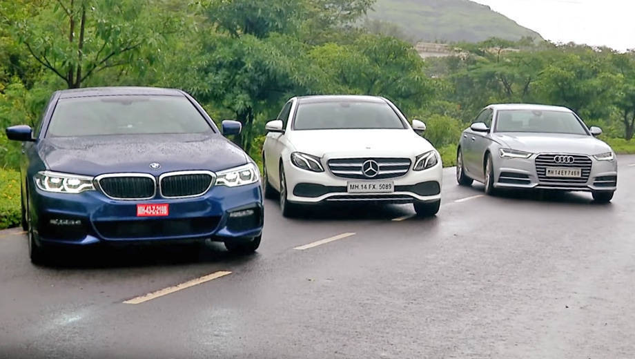 BMW 5 Series (G30) v Mercedes-Benz E-Class LWB v Audi A6 - Comparative Review