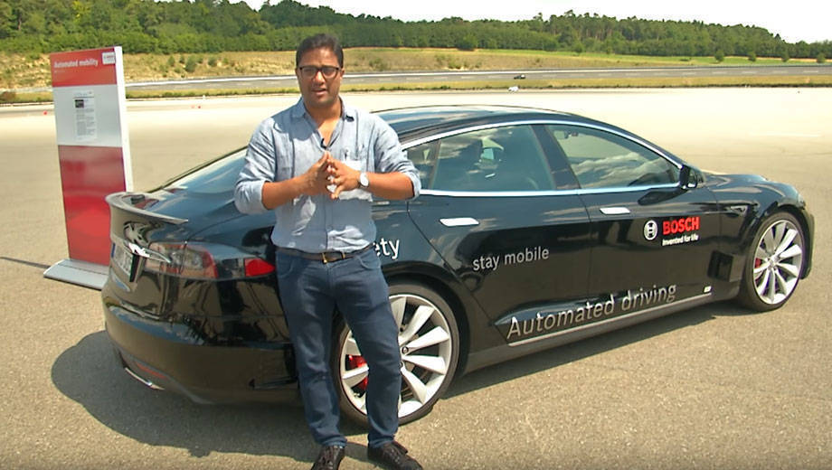 BOSCH Mobility experience: Experiencing the level 3 autonomous car