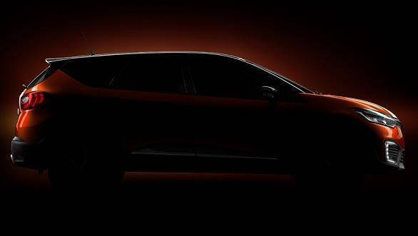 2017 Renault Captur SUV teased, to be launched in India by the end of this year