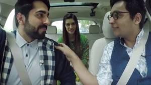 Caraoke drive with Ayushmann Khurrana and Kriti Sanon