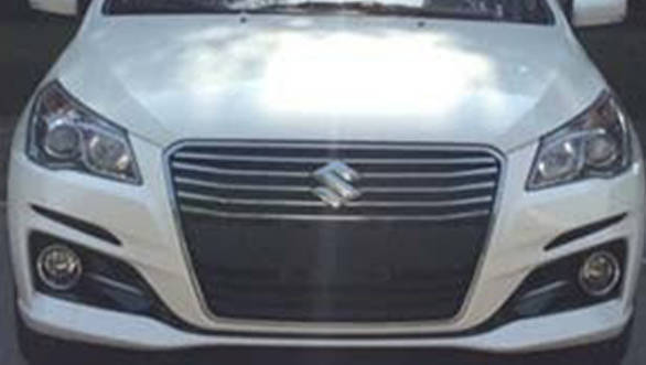 India-bound Suzuki Ciaz facelift spotted in China
