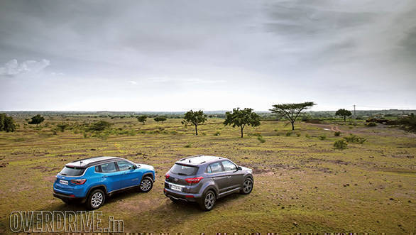 hyundai creta vs jeep compass 30