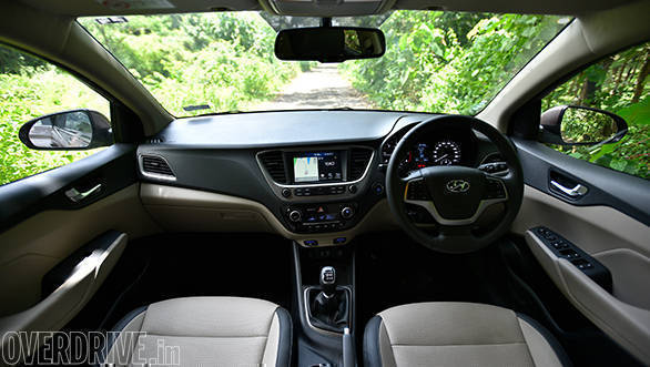 The cabin looks more upmarket than before in the new Hyundai Verna