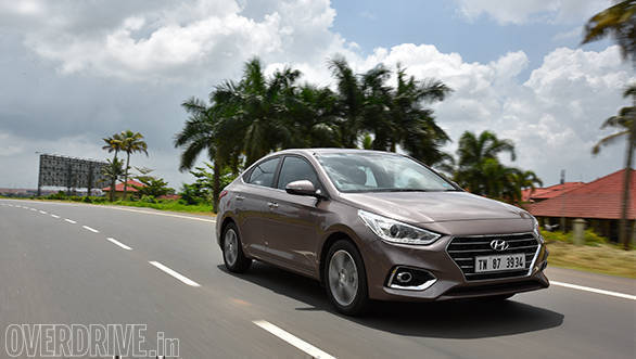 Driving dynamics of the Hyundai Verna have improved vastly and the car feels confident at high speeds