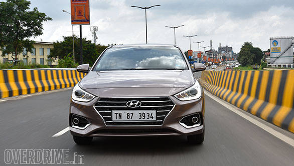 The Verna has a family cascading grille design that makes it look similar to the Elantra and other new-gen Hyundais