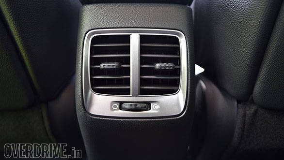 The new Hyundai Verna now comes with rear AC vents that are a welcome addition