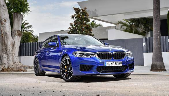 Image gallery: 2018 BMW M5 revealed