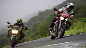 Comparison: 2017 Kawasaki Z900 vs 2017 Triumph Street Triple S