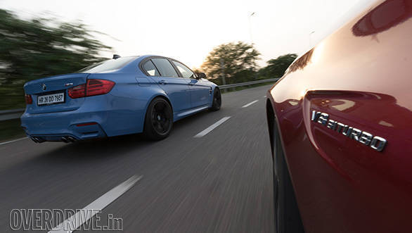 mercedes c63 vs bmw m3 103