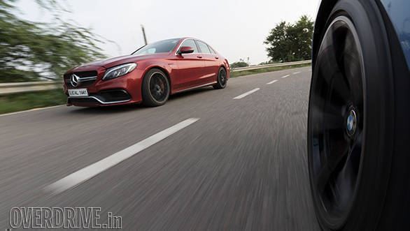 mercedes c63 vs bmw m3 104