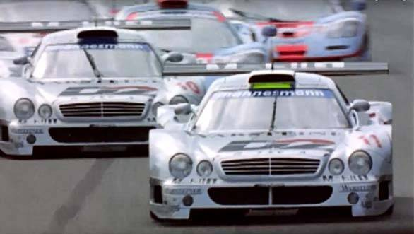 Video worth watching: 50 years of Mercedes-AMG - CLK GTR
