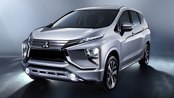 The Mitsubishi Xpander looks the part and almost feels concept-ish. That it shares the family genes with the Outlander and other SUVs is quite apparent from this angle
