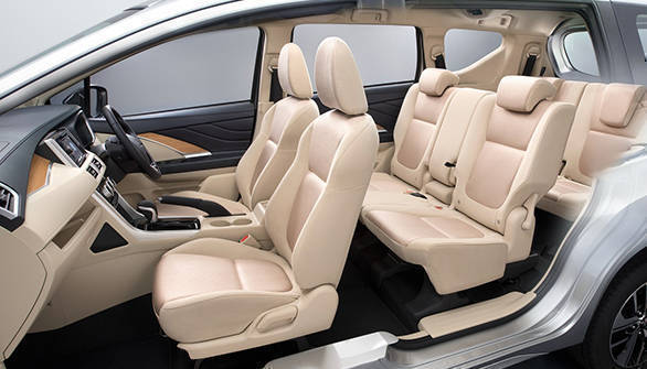 The Xpander looks quite spacious inside and according to the company's statement, looks to be one comfortable seven-seater