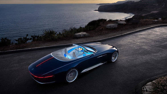 Vision Mercedes-Maybach 6 Cabriolet all-electric luxury concept car unveiled
